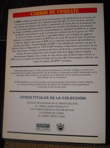 libro vehiculo bmp, osprey en español