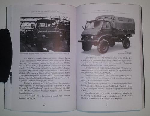 libro vehículos tácticos del ejército argentino