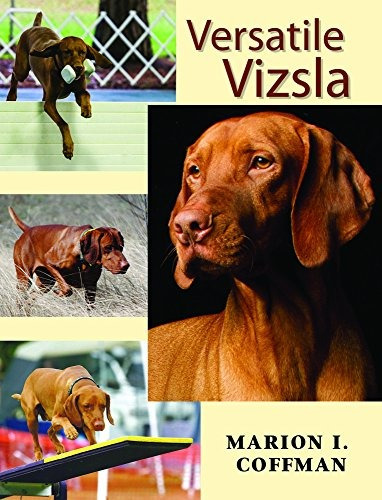 libro versatile vizsla - nuevo