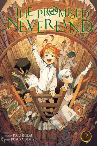 libro versión en inglés the promised neverland vol. 2-
