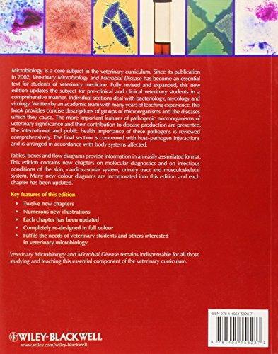 libro veterinary microbiology and microbial disease - nuevo