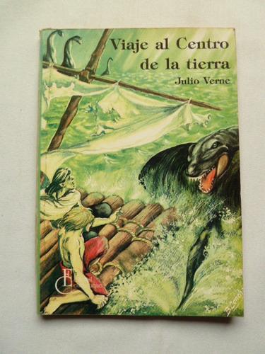 libro viaje al centro de la tierra de julio verne