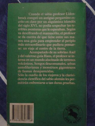 libro viaje al centro de la tierra por julio verne