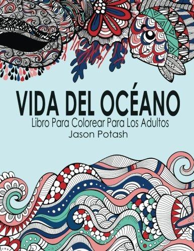 Libro : Vida Del Oceano Libro Para Colorear Para Los (3582) - $ 909 ...