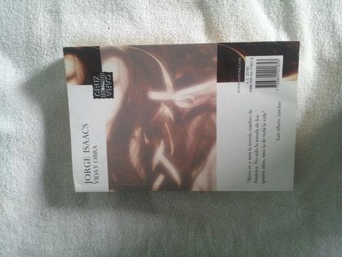 libro vida y obra maría jorge isaacs