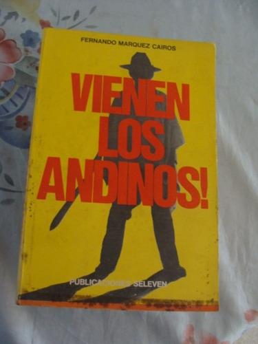 libro vienen los andinos