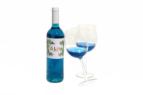 libro vino azul akita
