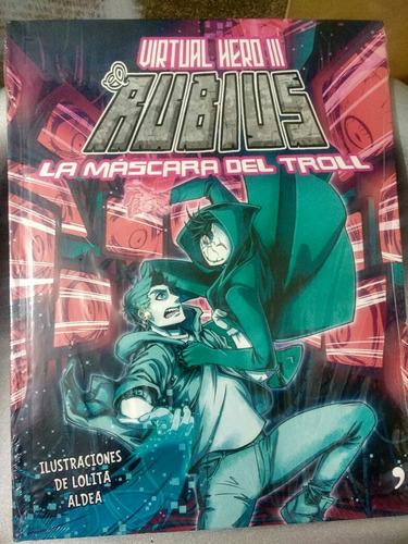 libro virtual hero 3 la máscara del troll. nuev origin tapad