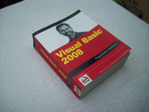 libro visual basic 2008 programmer's reference stephens, rod