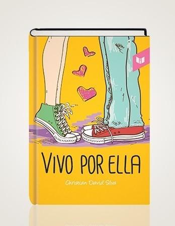 libro vivo por ella | nuevo + separador | literatura juvenil