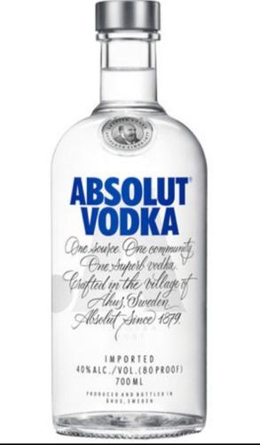 libro **vodka** absolut original bebidas licor coctel