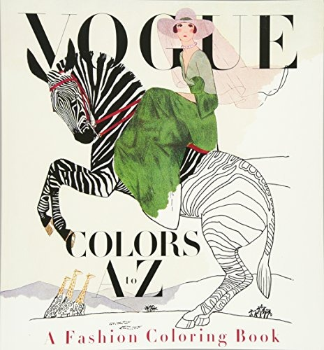 Libro Vogue Colors A To Z Adult Coloring Book: A Fashion Col ...