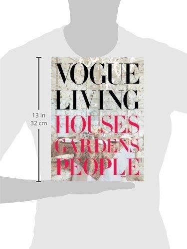 libro vogue living: houses, gardens, people - nuevo