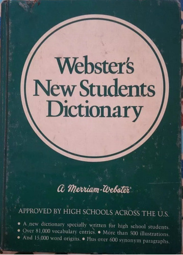 libro webster's new students dictionary
