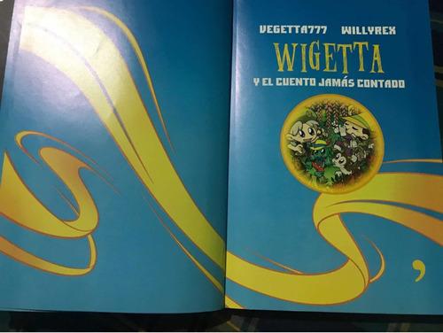 libro wigetta y el cuento jamás contado