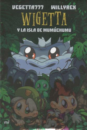 libro: wigetta y la isla de mumuchumu- vegetta 777
