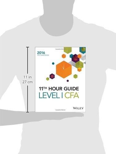 libro wiley 11th hour guide for 2016 level i cfa exam