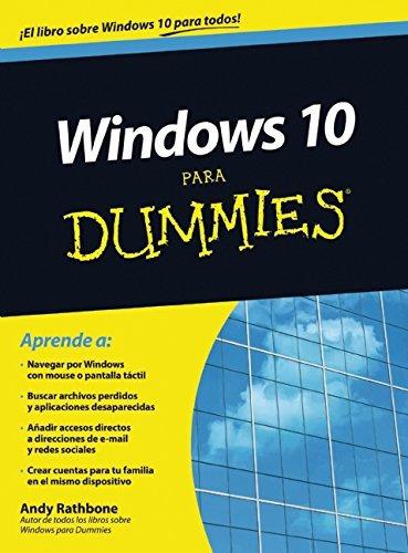 libro windows 10 para dummies - nuevo
