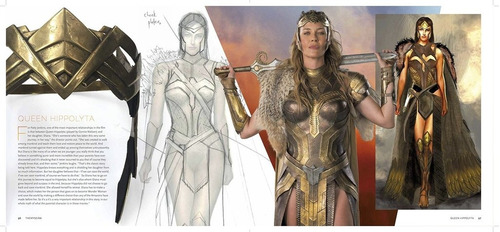 libro: wonder woman - the art and making of... ( en stock )