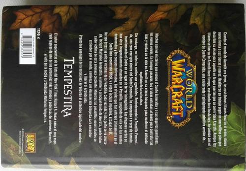 libro world of warcraft: tempestira