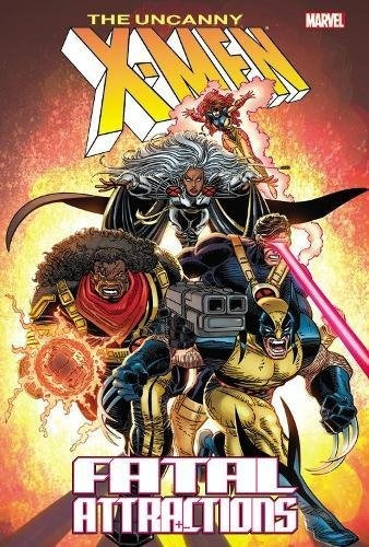 libro x-men: fatal attractions - nuevo