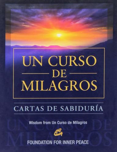 libro y cartas de sabiduría de un curso de milagros
