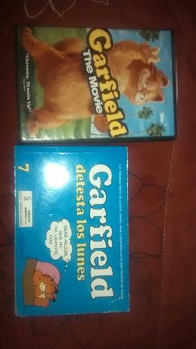 libro y dvd garfield