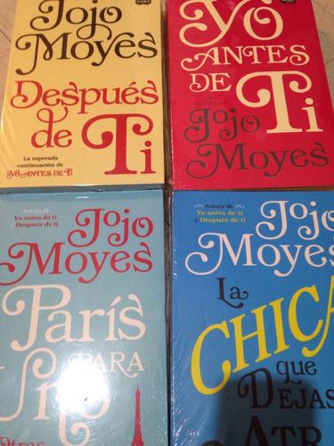 Libro Yo Antes De Ti+después De Ti+parís Para Uno+la Chica