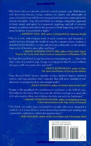 libro, yoga: beyond belief de ganga white.