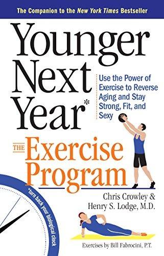 libro younger next year the exercise program - nuevo