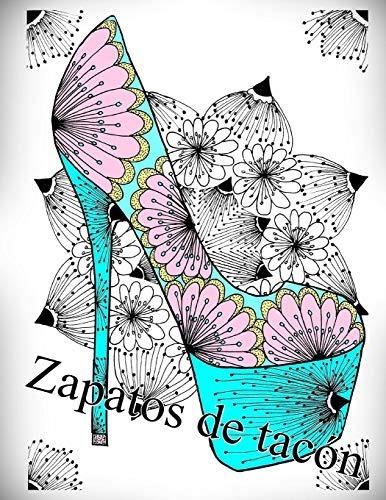 Libro Zapatos De Tacón Libro Para Colorear Para Adultos