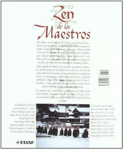 libro zen de los maestros - nuevo