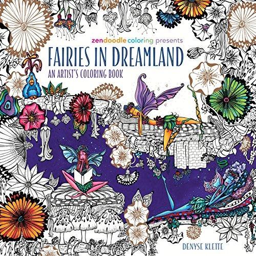 Libro Zendoodle Coloring Presents Fairies In Dreamland: An A ...