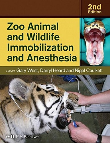 libro zoo animal and wildlife immobilization and anesthesi