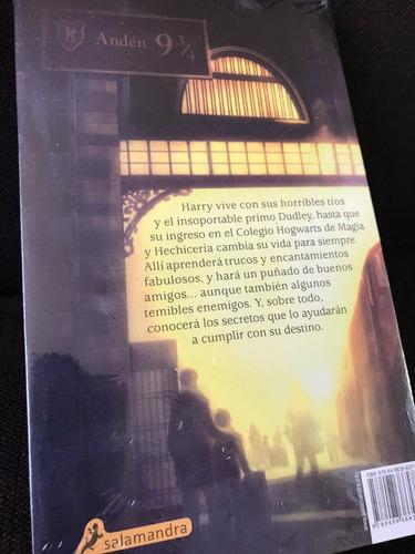 libro100% original harry potter y la piedra filosofal +envio