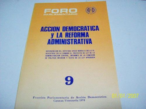 libro:accion democratica y la reforma del estado-ad