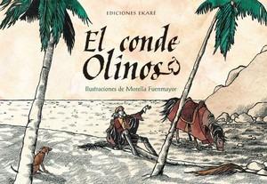 libro:el conde olinos romance, poesía tradicional edit ekare