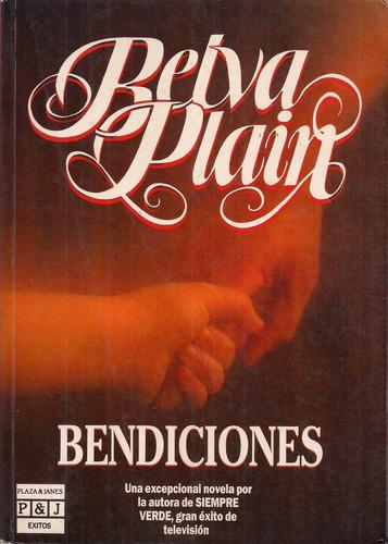 libro,novela, bendiciones,belva plain pag.311,usado
