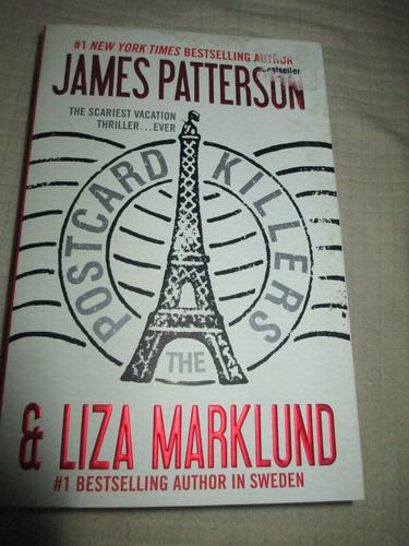 libro~novela ~en ingles postcards killers~james petterson
