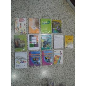 Libros 7mo Grado. (1er Año) Combo 13 Pzas. Usado