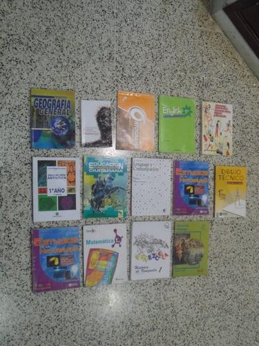 libros 7mo grado. combo 14 pzas, usados