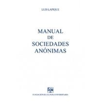 Sociedades Anónimas - Luis Lapique