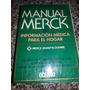 Libro Manual Merck De Información Médica Para El Hogar