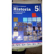 Historia Y Geografia De 5 Año Santillana
