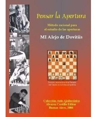 libros ajedrez - pensar la apertura - ventajedrez