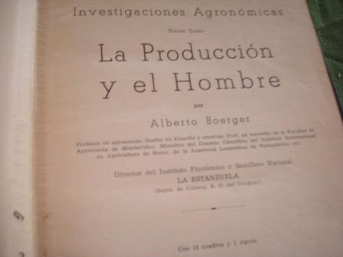 libros alberto boerger agronomia 2 dedicados la estanzuela 5