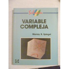 Free Spiegel Complex Variables Pdf