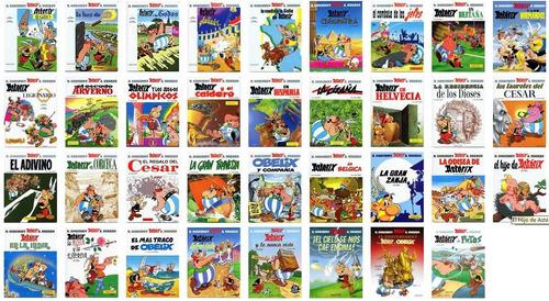 libros asterix colección completa 37 - envio gratis