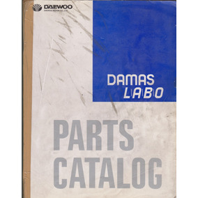 Manual De Despiece Daewoo Damas Labo Original Idioma Ingles