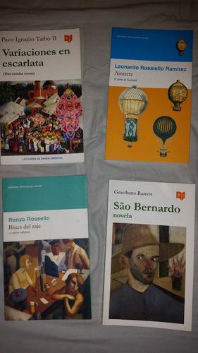 libros banda oriental lote de 4 cuentos novelas